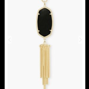 Kendra Scott Rayne Necklace In Black